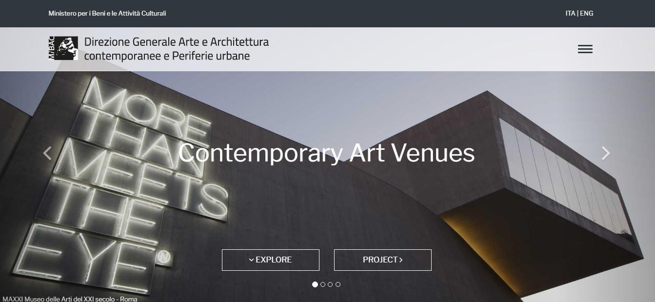 contemporary art venues